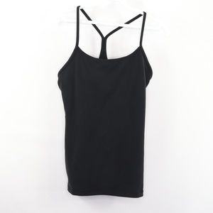 Lululemon Power Y Tank Top Shirt Black Size 8